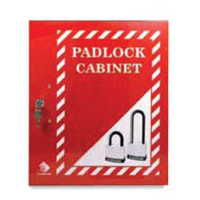Lockable Padlock Cabinet (up to 56 padlocks)