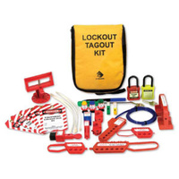 Electrician Pouch Lockout Kit