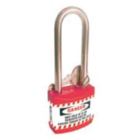 75mm Economy Safety Padlock Extra Length Shackle
