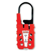Vinyl Coated Heavy Duty Lockout Hasp