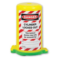 Cylinder Lockout - Danger Cylinder Locked Out  (Green)
