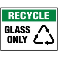 450x300mm - Metal - Recycle Glass Only
