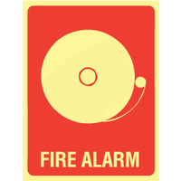 Fire Alarm (With Picto) - Luminous