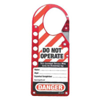 Safety Snap-On Lockout Hasp
