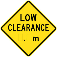 Low Clearance _._m (Ahead)