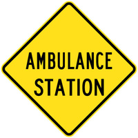600x600 - AL CL1W - Ambulance Station