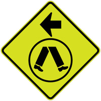 Pedestrian Crossing Left