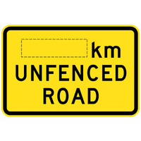 800x625mm - AL CL1W - __km Unfenced Road