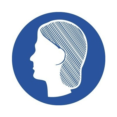 107ds Hair Net Pictogram Blair Signs Amp Safety