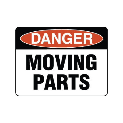 Danger Moving Parts