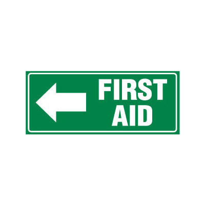 First Aid with Left Arrow
