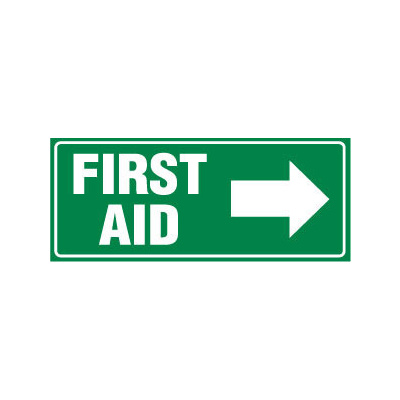 First Aid with Right Arrow