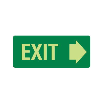 Exit (with right arrow)