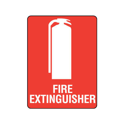 Fire Extinguisher (with pictogram)