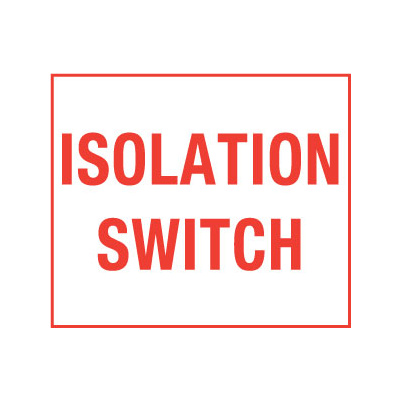 Isolation Switch