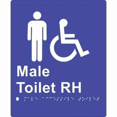 Male Accessible Toilet (Right Hand)