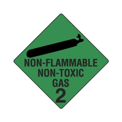 Non-Flammable Non-Toxic Gas 2 Magnetic