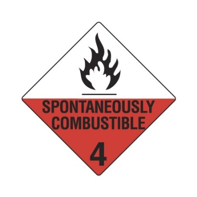 Spontaneously Combustible 4 Magnetic