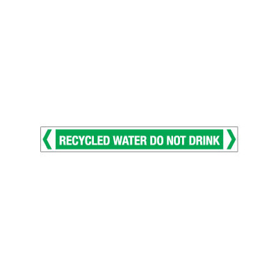 Recycled Water Do Not Drink