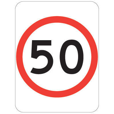 50 Speed Restriction
