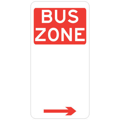 Bus Zone (Right Arrow)