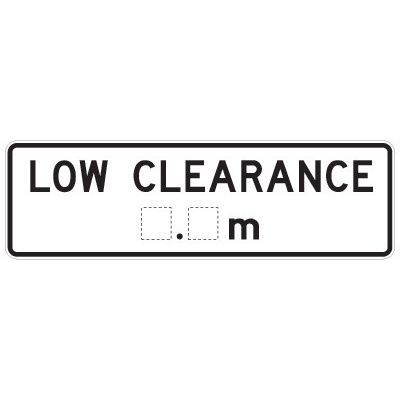 Low Clearance _._m