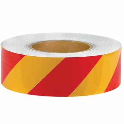 Reflective Tape - Yellow and Red - Class 2 Engineer Grade