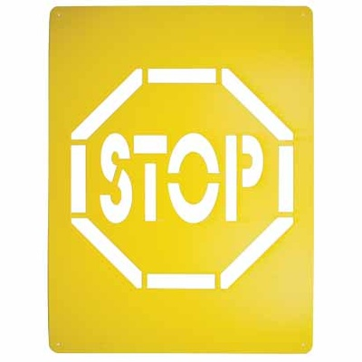STOP Stencil Poly