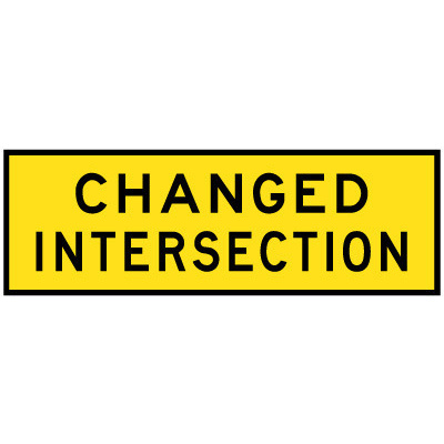 Changed Intersection