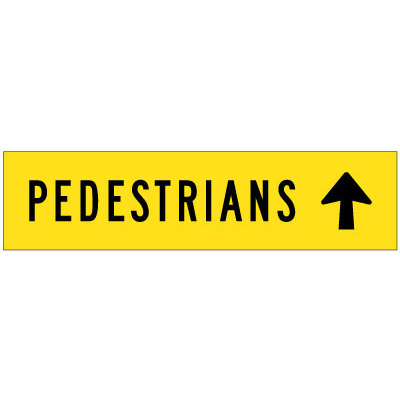 Pedestrians (Arrow Up)
