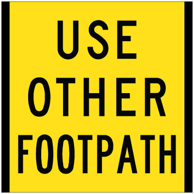 Use Other Footpath