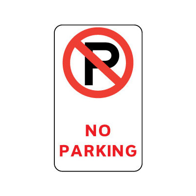 No Parking (With Symbol)