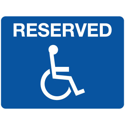 Reserved (Disabled Picto)