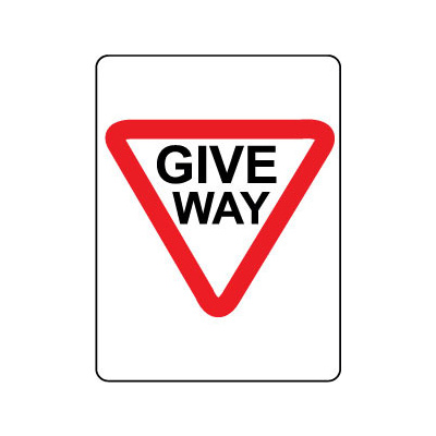 Give Way Triangle