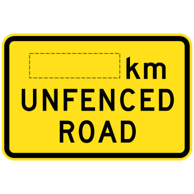 __km Unfenced Road