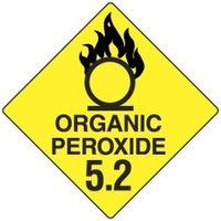 100x100mm - Self Adhesive - Pkt of 6 - Organic Peroxide 5.2