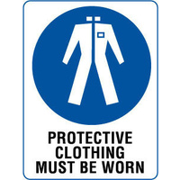 Protective Clothing Must be Worn
