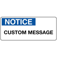 Notice Sign Landscape - Custom