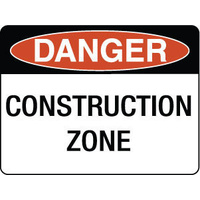Danger Construction Zone