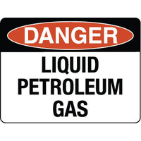 Danger Liquid Petroleum Gas