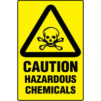 600x450mm - Poly - Chemical Hazardous Chemicals