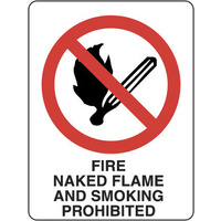 Fire, Naked Flame and Smoking Prohibited
