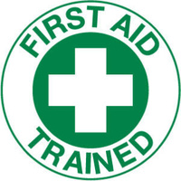 Trained with First Aid Pictogram