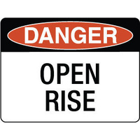 Danger Open Rise