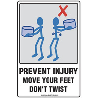 Prevent Injury Move Your Feet Don't Twist