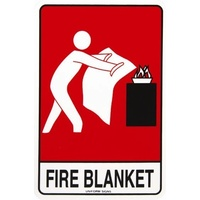 Fire Blanket (with pictogram)