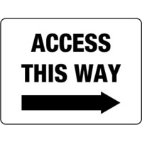 Access This Way (right arrow)