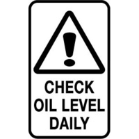 Check Oil Level Daily