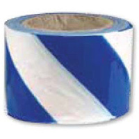 Barrier Tape - Blue and White Stripes
