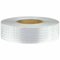 50mm x 5mtr - Class 1 Reflective Tape - White